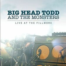 Live at the Fillmore, Big Head Todd and The Monsters, DVD, NEW!