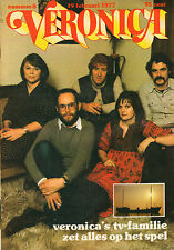 VERONICA 1977 nr. 08 - FLO & EDDIE / VERONICA TV-FAMILIE / VPRO / TOP 40