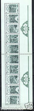 RUSSIA 1988  FOUNTAINS  ARCHITECTURE  COMPLETE SHEET OF 10v  MNH **