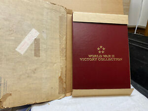 WORLD WAR II VICTORY COLLECTION FIRST DAY STAMP ALBUM - NEW W/ORIGINAL SHIPPER