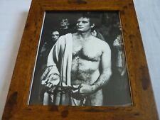 Framed Promotional Photo Lobby card 10x8 CHARLTON HESTON Julius Caesar 1970