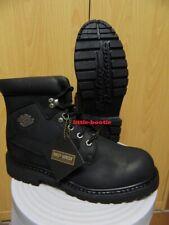 Harley-Davidson Boots Stiefel Herren schwarz Leder Gr. 44  91005 Badlands SALE