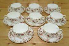 "Minton Ancestral (8) Cups, 2 3/8"" & (8) Saucers, 5 5/8"""