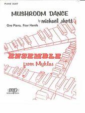 Mushroom Dance Piano Duet Sheet Music 4 Hands Michael Shott Myklas
