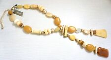 NWT $79 Chico's Dakota Lariat Necklace, Yellow