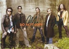 JOURNEY HAND SIGNED PHOTO WITH COA -  3 MEMBERS RARE AUTOGRAPHED 8X10