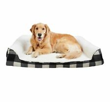 Pet Bed Couch - Large -  Boots & Barkley NWT Black Flannel