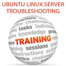 UBUNTU LINUX SERVER Troubleshooting - Video Training Tutorial DVD