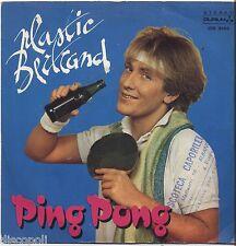 "PLASTIC BERTRAND - Ping pong - VINYL 7"" 45 RPM LP 1982 NEAR MINT COVER VG-"