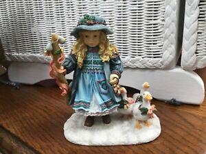 Christine Haworth Goose girl Figurine