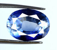 Oval Cut Blue Sapphire Loose Gemstone 5-7 Ct Natural VS Clarity AGSL Certified