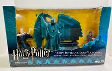NECA HARRY POTTER VS LORD VOLDEMORT BOXED FIGURE SET DIORAMA SEALED REEL TOYS