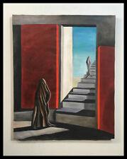Kay Sage Painting- oil on canvas