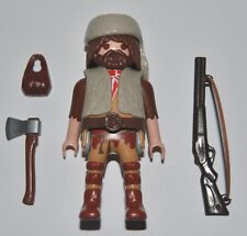 Trampero Davy Crockett playmobil,western,oeste,vaquero,trapper,Daniel Boone
