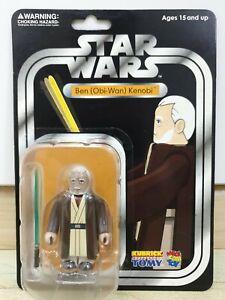 Medicom Star Wars Kubrick Series 2  Obi Wan Kenobi Collectors Edition Carded