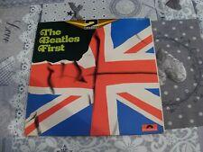 DISQUE VINYLE THE BEATLES FIRST double album 33 tours année 1968