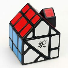 Dayan House Shape Irregular Magic Cube Twist Puzzle Intelligence Toys Red Black