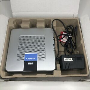 Linksys Cisco RTP300 Broadband Router Kit w/ 2 Phone Ports Excelen- Tested- F2