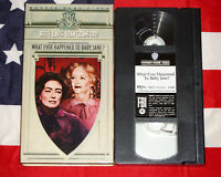 What Ever Happened to Baby Jane? (VHS, 1962) Bette Davis, Joan Crawford, Video