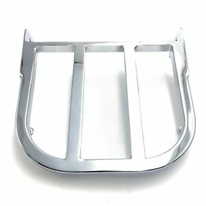 Chrome Sissy Bar Luggage Rack For Suzuki Marauder VZ800 Boulevard C50/C90/M50