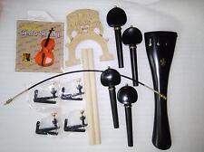 Ebony Cello fitting brass decoration+French style cello bridge etc all 4/4 SF30