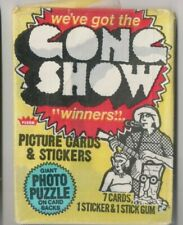 1977 FLEER GONG SHOW PICTURE CARDS & STICKERS WAX PACK UNOPENED FREE SHIPPING!!!