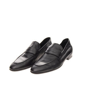 RRP €1095 BERLUTI Leather Penny Loafer Shoes Size 41.5 IT 40.5 UK 7.5 US 8.5