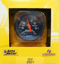 Auto Meter 2601 Z-Series Vacuum 30,  Boost 20 PSI  Mechanical Gauge 2 1/16