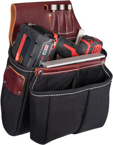 Occidental Leather 8068 Impact / Screw Gun And Drill Bag Leather New
