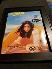 Billie Piper Honey To The Bee Rare Original Radio Promo Poster Ad Framed!