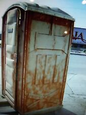 TOILET, BIG JOHN, NICE SIZE, FIBERGLASS,   900 ITEMS ON E ABY