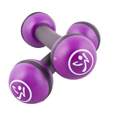 Zumba 2.5 lb Purple Toning Sticks- have fun & tone too! Free Hand Weights