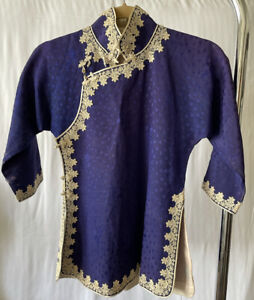 Antique Chinese 1920's Lace And Silk shirt *VERY RARE*