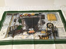 New listing Vintage Tea Towel Kitchen Linens Irish Linen Made In Ireland Blackstaff Hearth