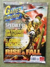 Rivista TGM The Games Machine nr. 210 Luglio 2006 Videogiochi PC Rise & Fall