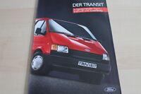122846) Ford Transit Prospekt 12/1985