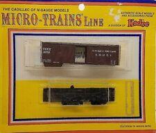 Model Railroads & Trains Micro-trains Bn Merger Pack Fallen Flags Gn Np Cbq Sps
