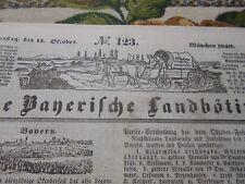 1840 Landbötin 123 / München Oktoberfest Landshut