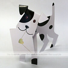 """3D Special Delivery Greeting Card - Dog """"Wuff"""" - SD- 018"""