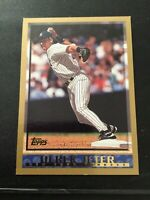 DEREK JETER 1997 Topps Gold Baseball #160 New York Yankees HOF