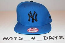 7a37b7645c9 New Era New York Yankee Royal Blue Black Nike Foamposite Snapback Hat New