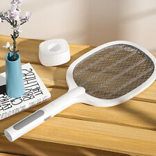 Electric Bug Zapper Racket Mosquito Fly Swatter Killer Insects Bat Handheld 2020