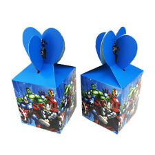 12Pcs Marvel Avengers Candy Box Kids Birthday Party Favor Boys Filler Supplies