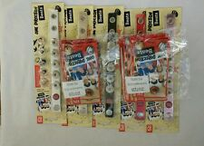 One Direction Beats WHITE/RED/BLACK/SILVER/PINK 5 Bracelet PLUS 20 BEATS PACKS