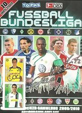 TOPPS Fußball Bundesliga: 2009/10, 2010/11, 2013/14, 2014/15, 2015/16