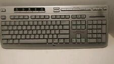HP 5187-7583 Silver Multimedia Keyboard And Media Player Controls