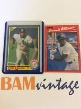 Bernie Williams RC 1992 Score Donruss Rookie 2 Baseball Card LOT Yankees MLB ⚾️