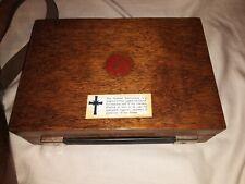 New listing Vintage Church of Scientology Mark V E-Meter W/ Leather Case