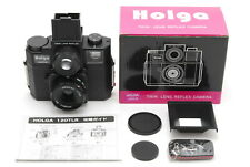 *UNUSED in Box* HOLGA 120GTLR Black Medium Format Twin Lens Japan F/S FedEx 317