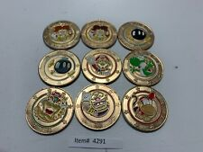 Large Tokens - 9 Super Mario Brothers- Frankford Candy Tokens - Item #4291